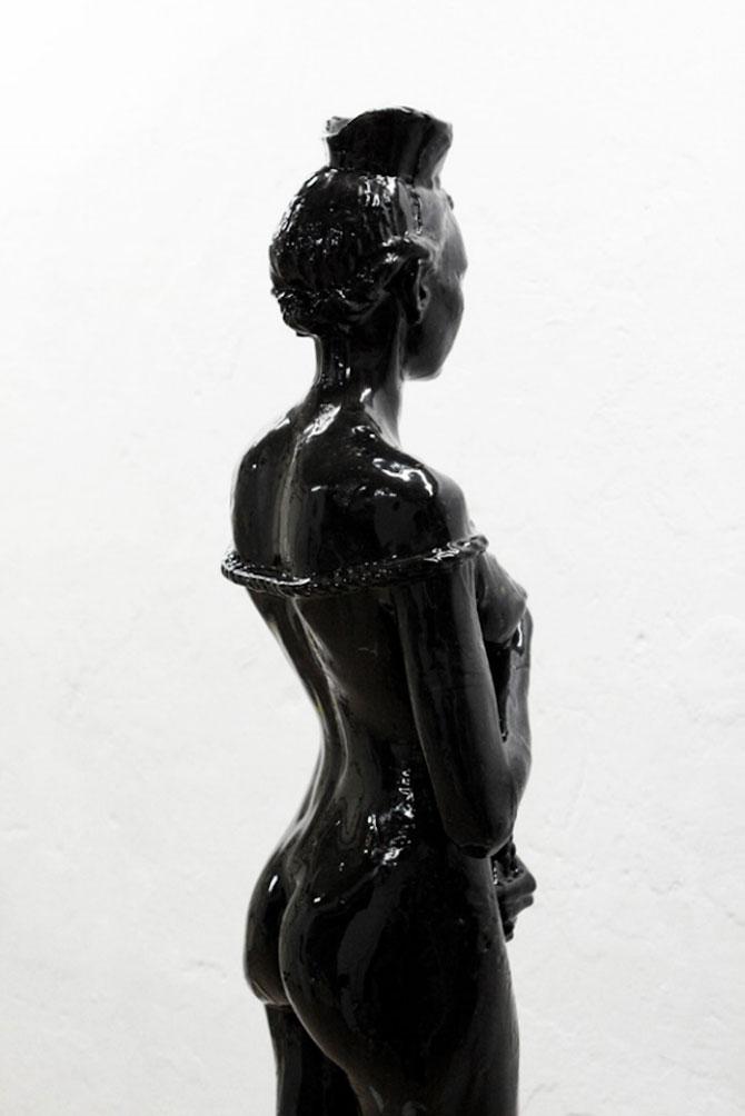 Laura sculptata din zahar de Joseph Marr - Poza 7