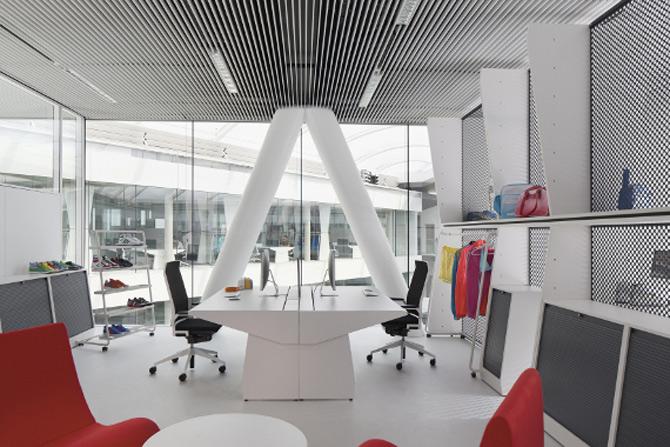 Adidas isi tine angajatii in forma la noul sediu - Poza 21