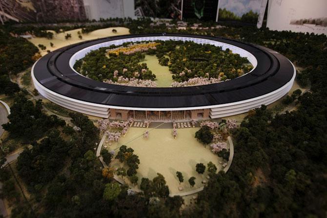Visul lui Steve Jobs: Sediul Apple OZN - Poza 1