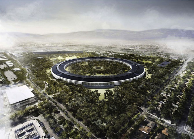 Visul lui Steve Jobs: Sediul Apple OZN - Poza 3