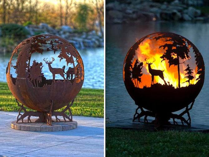 Focul din padure, de Melissa Crisp - Poza 1