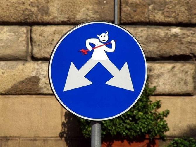 12 semne creative de circulatie - Poza 4