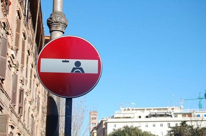 12 semne creative de circulatie - Poza 10