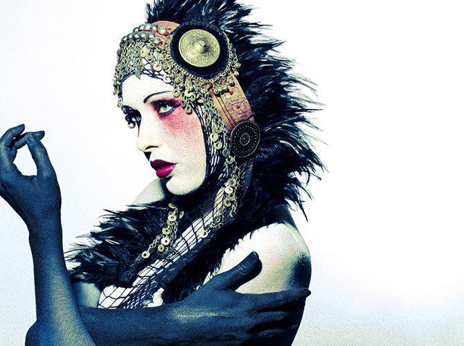 Carnaval burlesc cu Sequoia Emmanuelle - Poza 11