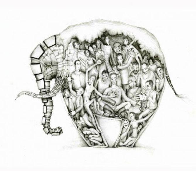 Desene din Rusia, trimise de Sergei Arkhipov - Poza 1