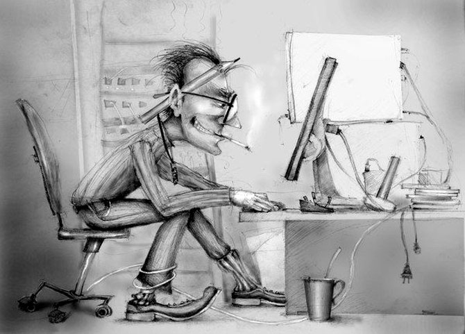 Desene din Rusia, trimise de Sergei Arkhipov - Poza 2