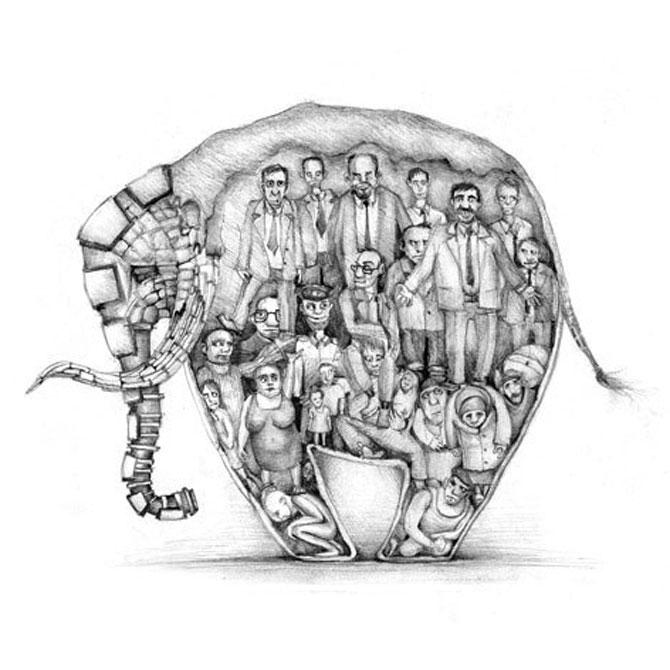 Desene din Rusia, trimise de Sergei Arkhipov - Poza 7