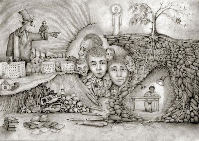 Desene din Rusia, trimise de Sergei Arkhipov - Poza 8