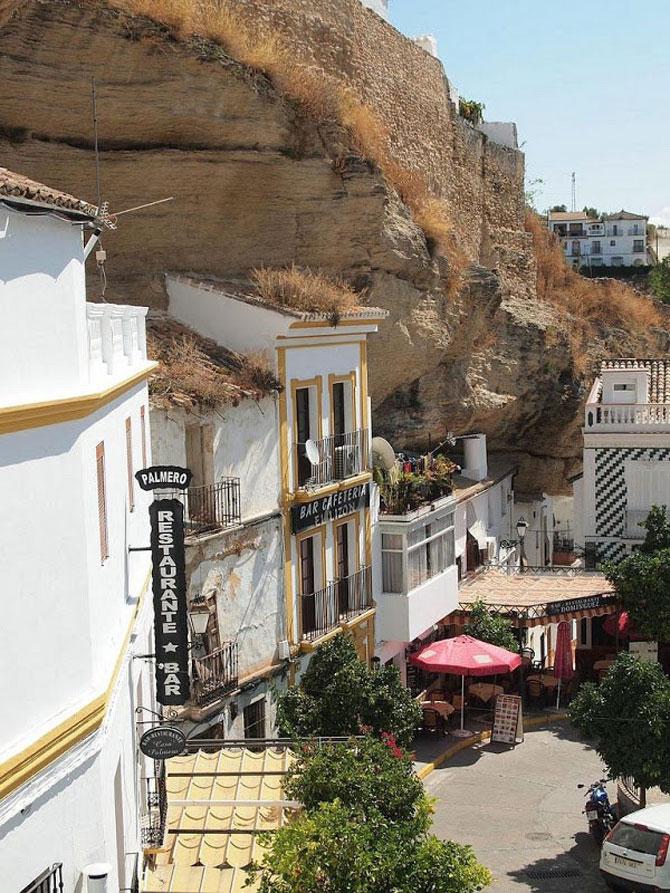 Orasul din stanca: Setenil de las Bodegas, Spania - Poza 2