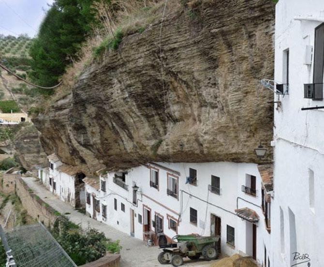 Orasul din stanca: Setenil de las Bodegas, Spania - Poza 3