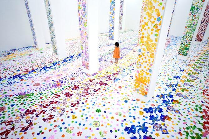 Gradina fermecata de la Muzeul de Arta din Singapore - Poza 1
