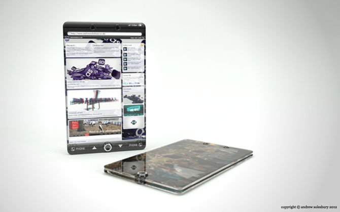 Smartphone-uri si tablete din viitor, de Andrew Solesbury - Poza 5