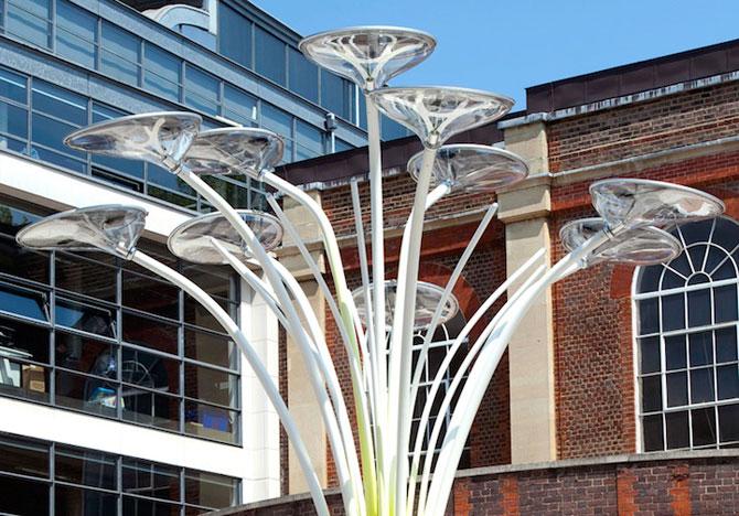 Copacul cu panouri solare, pentru JO 2012 - Poza 2