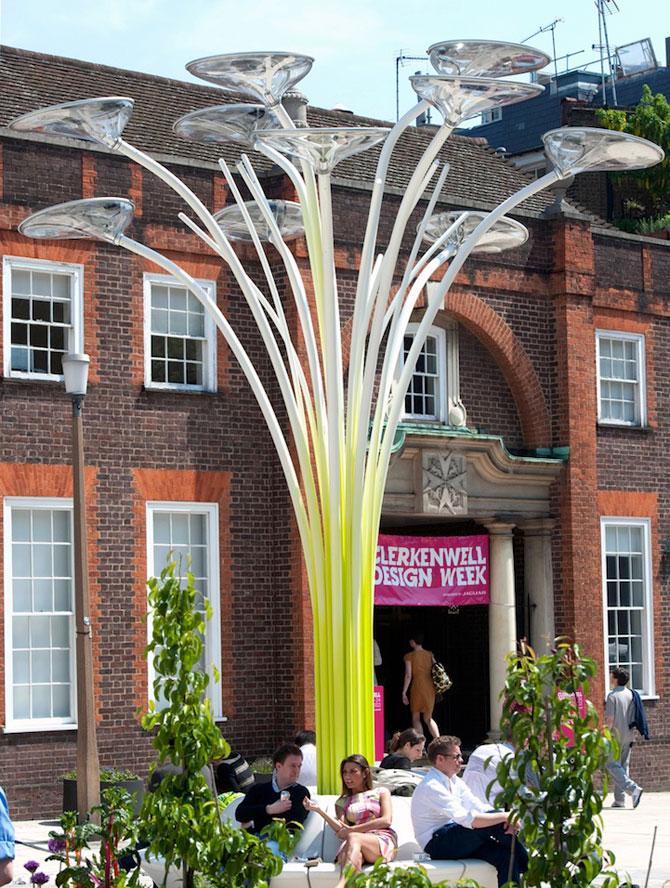 Copacul cu panouri solare, pentru JO 2012 - Poza 3