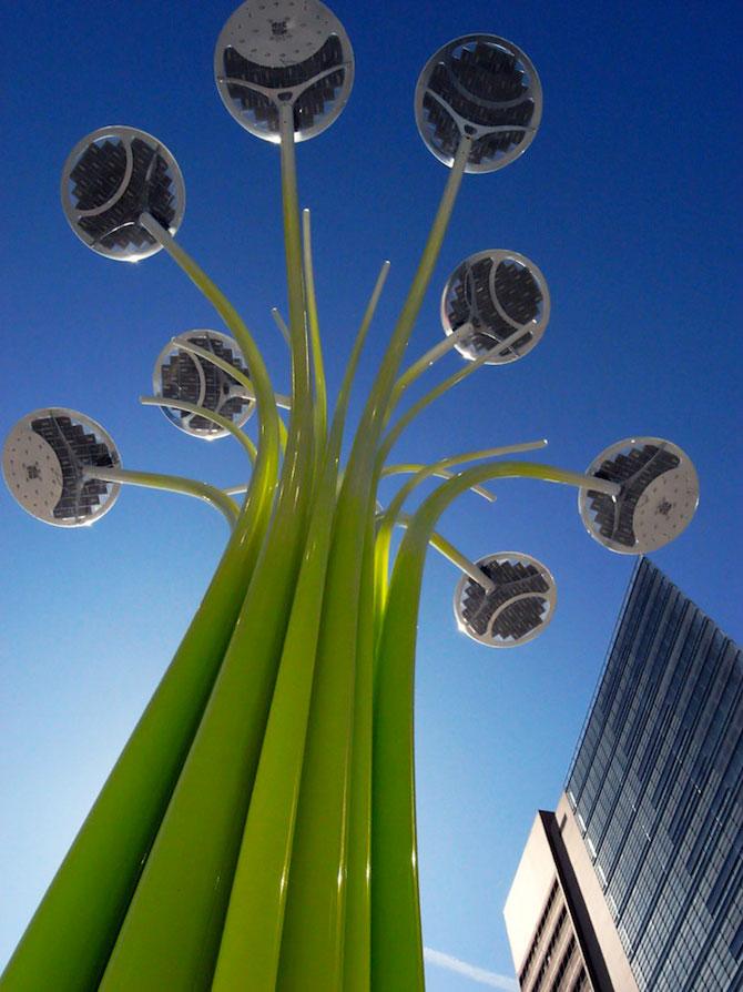 Copacul cu panouri solare, pentru JO 2012 - Poza 4