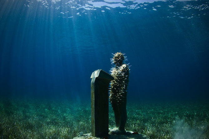 Statui subacvatice, de Jason deCaires Taylor - Poza 2