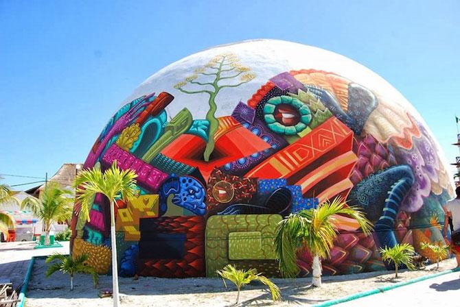 O cupola inspirata de folclor, in Mexic - Poza 1