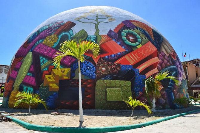 O cupola inspirata de folclor, in Mexic - Poza 2