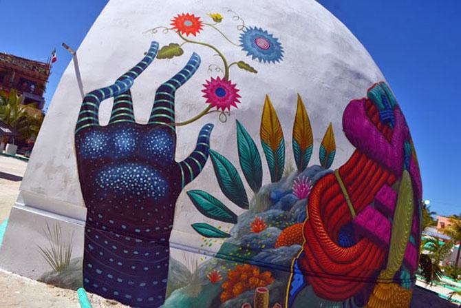 O cupola inspirata de folclor, in Mexic - Poza 3