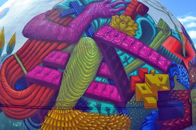 O cupola inspirata de folclor, in Mexic - Poza 4