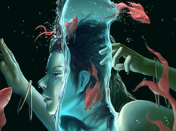 Ilustratii fantastice de Daniel Conway - Poza 14
