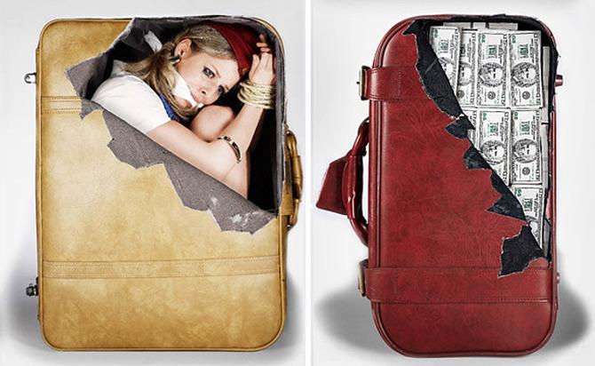 Autocolante anti-plictiseala pentru bagaje - Poza 1