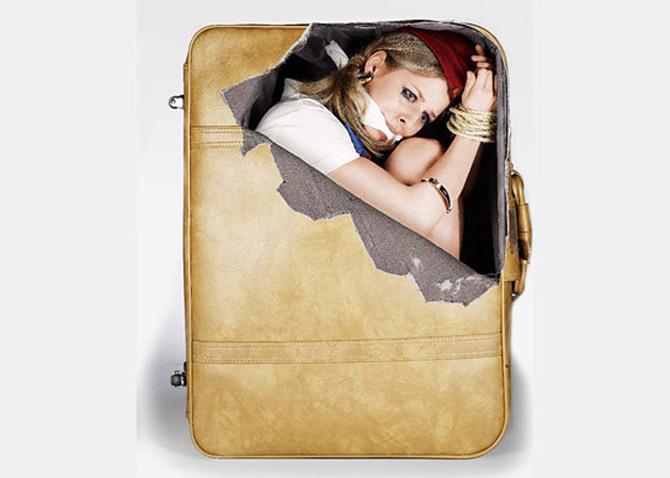 Autocolante anti-plictiseala pentru bagaje - Poza 3