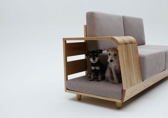 Canapea pentru patrupede, de la Sungji Mun si M.pup - Poza 1