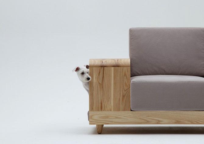 Canapea pentru patrupede, de la Sungji Mun si M.pup - Poza 2