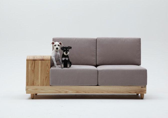 Canapea pentru patrupede, de la Sungji Mun si M.pup - Poza 3