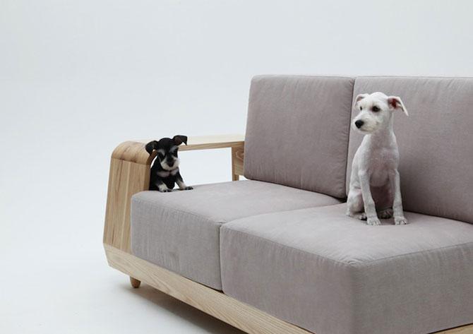 Canapea pentru patrupede, de la Sungji Mun si M.pup - Poza 4