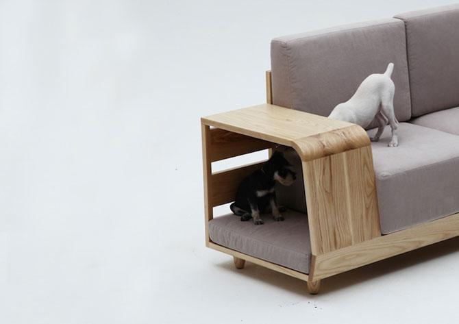 Canapea pentru patrupede, de la Sungji Mun si M.pup - Poza 5