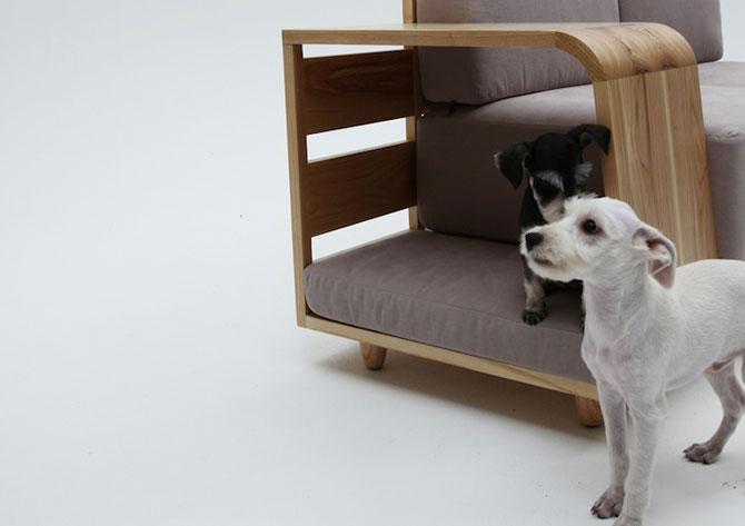 Canapea pentru patrupede, de la Sungji Mun si M.pup - Poza 6