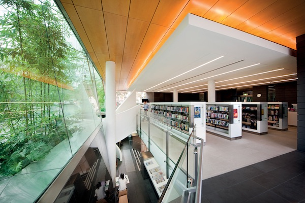 Arhitectura bibliotecii din Surry Hills - Poza 3