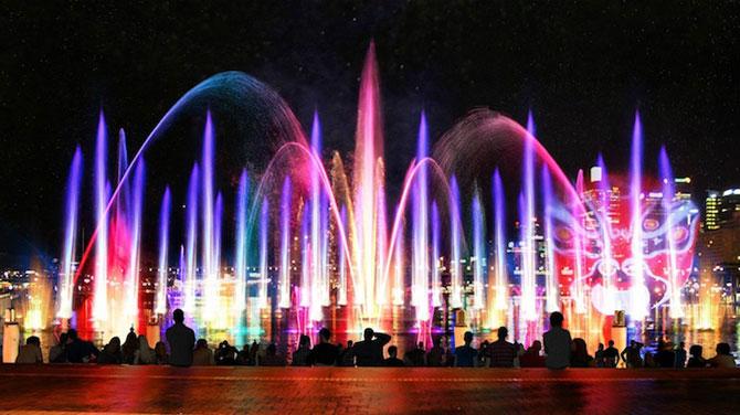 Show de lumina si culoare la Sydney: Vivid Aquatique - Poza 1