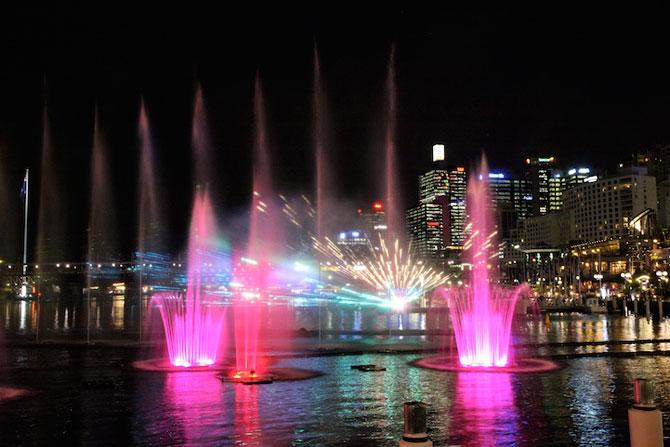 Show de lumina si culoare la Sydney: Vivid Aquatique - Poza 3