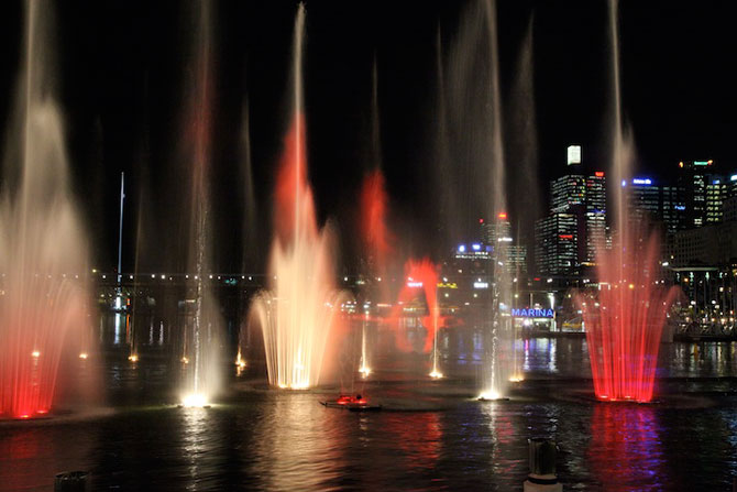 Show de lumina si culoare la Sydney: Vivid Aquatique - Poza 4