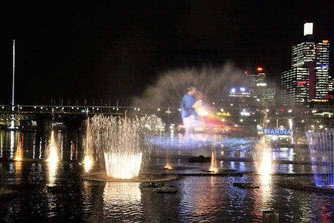 Show de lumina si culoare la Sydney: Vivid Aquatique - Poza 6