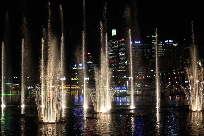 Show de lumina si culoare la Sydney: Vivid Aquatique - Poza 7
