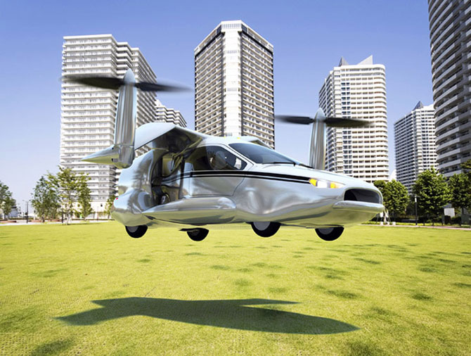 Masina viitorului stie sa zboare - Poza 1