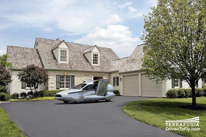Masina viitorului stie sa zboare - Poza 2