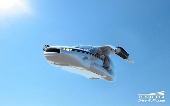 Masina viitorului stie sa zboare - Poza 4