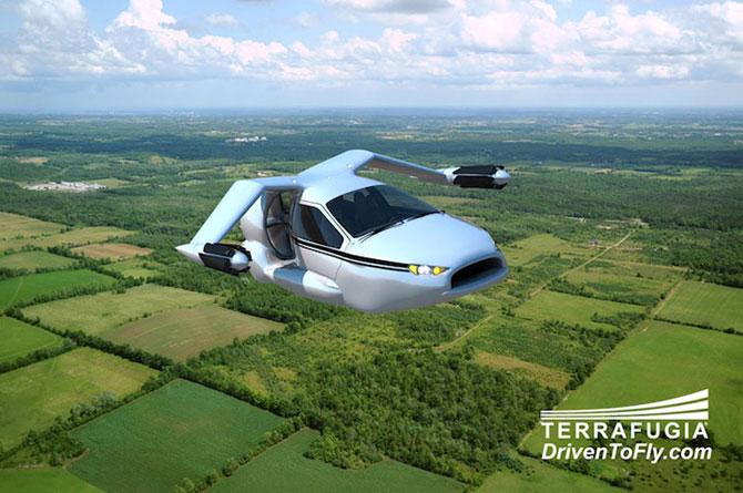 Masina viitorului stie sa zboare - Poza 5