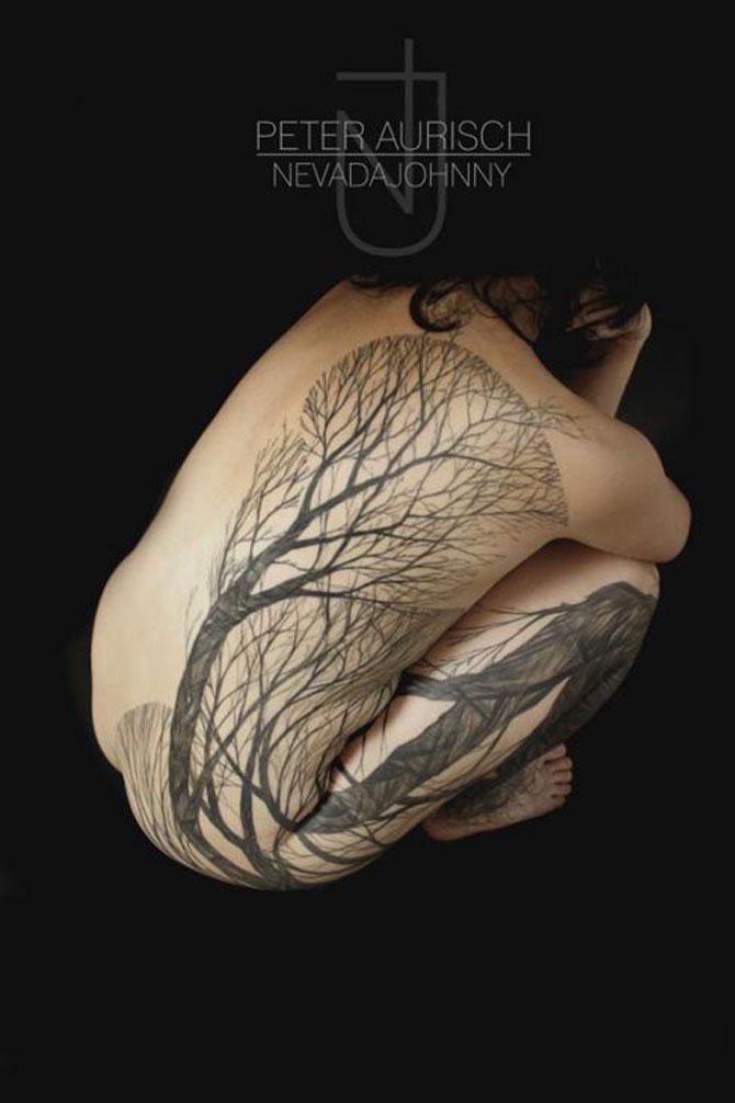 Tatuaje spectaculoase, in stil contemporan - Poza 4