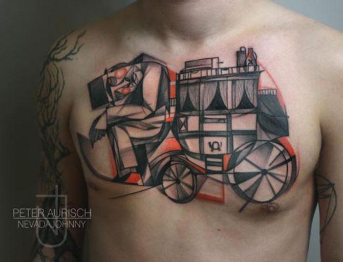 Tatuaje spectaculoase, in stil contemporan - Poza 5