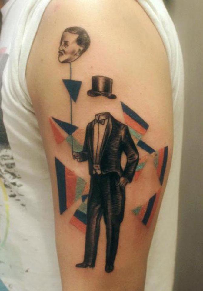 Tatuaje spectaculoase, in stil contemporan - Poza 7