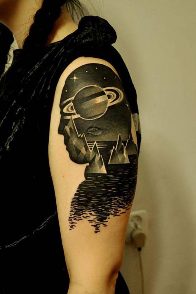 Tatuaje spectaculoase, in stil contemporan - Poza 12