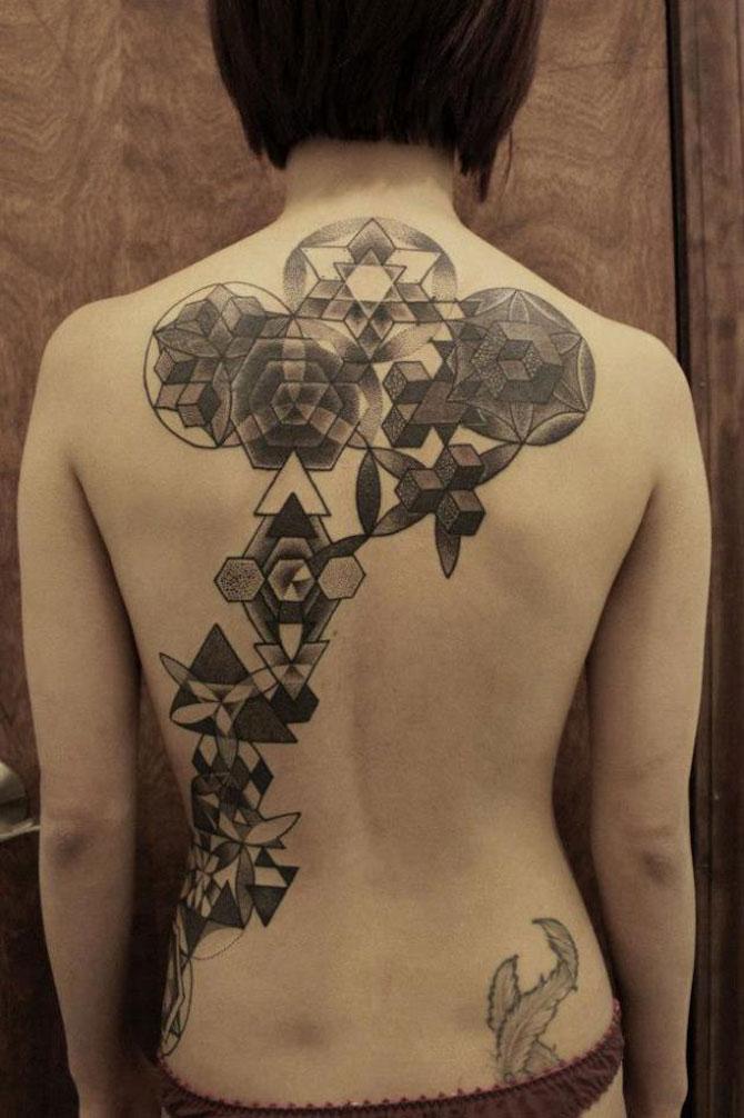 Tatuaje spectaculoase, in stil contemporan - Poza 14