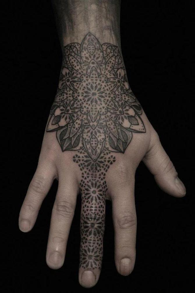 Tatuaje spectaculoase, in stil contemporan - Poza 15