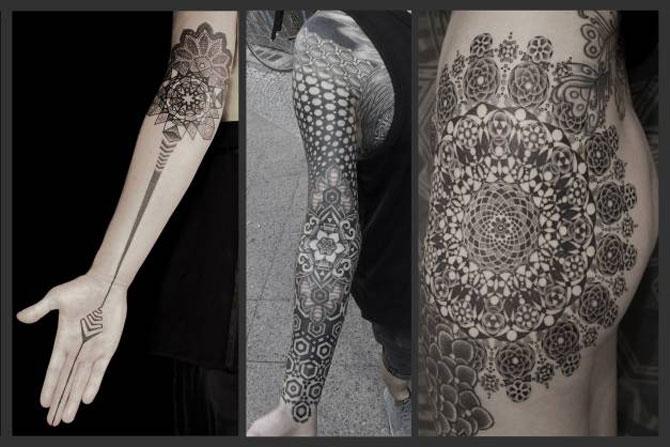 Tatuaje spectaculoase, in stil contemporan - Poza 16